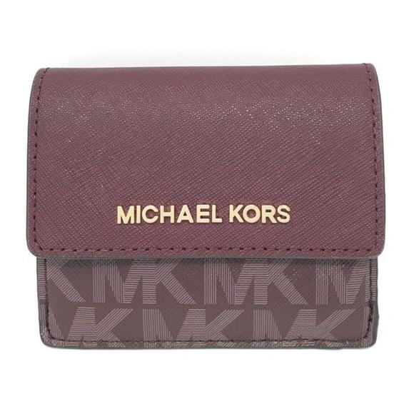 75eaf415dd2f Michael Kors Accessories | Jet Set Travel Credit Card Case Id | Poshmark